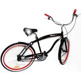 Bicicletas Playera Chopera Cruz Rodado 26 / 48 Rayos