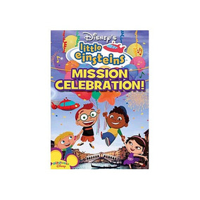 Playhouse Disney Little Einsteins: Misión Celebración De Dvd