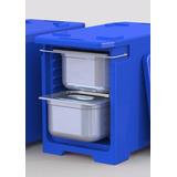 Hot Box Hotbox Caixa Térmica Vertical P/ Cuba Gn Aço Inóx