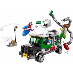 Lego Super Heroes76015-el Asalto Doc Ock El Camión Acorazado