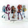 Display Mesa Enfeite Festa Monster High 20cm - 5 Unidades