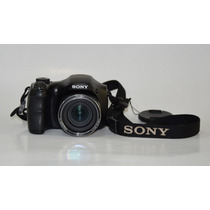 Sony Cybershot Dsc H100 16.1mp Com Bolsa E Cartão Sd