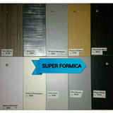 Formica Lamina Decorativa Gris, Negro, Blanco, Champán,