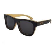 Gafas  Anteojos Sol 100% Madera Woot8 - Black Bamboo Nature