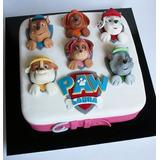 Torta Paw Patrol Cupcakes Cakepops Maqueta