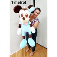 Mickey Bebê Baby Grande Pelúcia Gigante 1 Metro P/ Presente