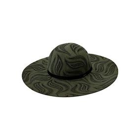 Volcom Free Bird Felt Hat Tamaño M / L Color Army