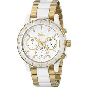 Lacoste 2000852 Charlotte Dorado Del Reloj