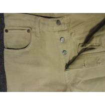 Pantalon Corte Jean Via Vai.cintura Alta.t M