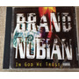 Cd Brand Nubian - In God We Trust