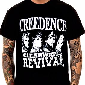 Camiseta Manga Curta Creedence Ref=359
