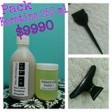 Kit Keratina Alisado Permenente 250 Ml + Shampoo