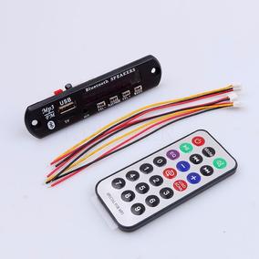 Modulo Reproductor Bluetooth Entrada Mp3 Sd Usb Envio Gratis