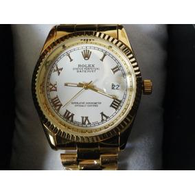 Precioso Reloj Rolex Presidente Con Fechador, Estuche Gratis