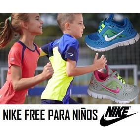 Zapatos Nike Free Run Para Niños De La Talla 25 A La 34