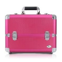 Maleta Jacki Design Profissional Rosa Gg! Ganhe Brinde Vult