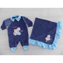 Saída Maternidade Azul Baby Gijo - Lançamento Imperdivel