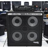 Master Set De Baixo Profissional Bs410ex +cabeçote 200bs