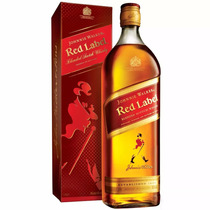 Whisky Johnnie Walker Red Label 1 Litro Selo Ipi