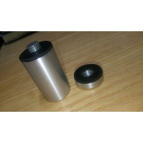 Poste De Aluminio De 1 Para Soporte De Vidrios Juego De 4pz