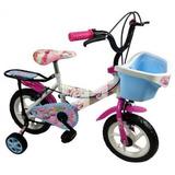 Bicicleta Rodado 16 Con Canasto Y Parrilla Eg21 10789