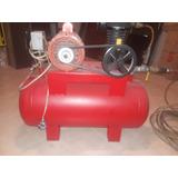 Compresor Usado Electrico , 1/2 Caballo , Cabezal Nuevo.