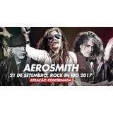 Ingresso Rock In Rio 2017 Aerosmith Inteira