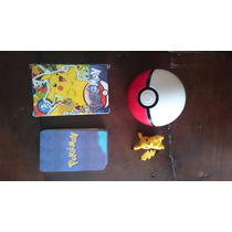 Pokebola + Pokemon + Naipe Pokemon