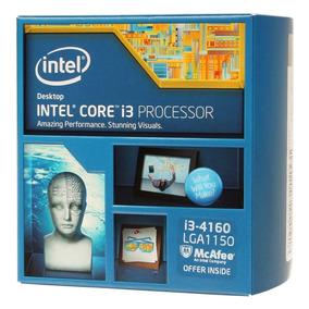 Processador Intel Core I3-4160, 3mb, 3.6ghz, Lga 1150 Box