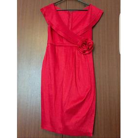 Vestido Americano Rojo