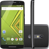 Smartphone Moto X Play Xt1563 32gb Preto 21mp [vitrine]