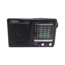 Rádio Analógico Antigo Portátil 2 Bandas Am/fm Tv Mp3 Pocket