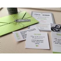 Participaciones Invitaciones Tarjetas De Casamiento Quince