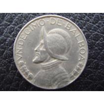 Panamá - Moneda De 1/10 Balboa, Año 1996 - Muy Bueno