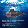 777-216 Mini Rc Racing Barco Submarino R/c Juguetes W /