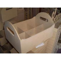 Cajon Organizador Baby Shower Fibrofacil Maderarte Zona Sur
