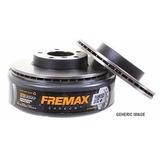 Kit Discos De Freno Fremax Para Vw Fox Suran 256mm Llanta 15