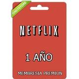 Gift Card Netflix - Original 1 Año