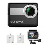 Dbpower N6 4k Wifi Acción Cámara, 2.31 \lcd Pantalla Táctil