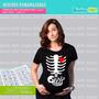 Diseños Estampar Poleras De Mujeres Embarazadas