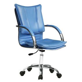 Silla Ejecutiva Oficina Azul 12 Pagos S/rec Envio Gratis
