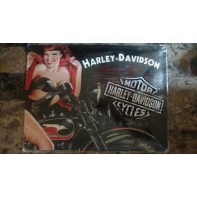 .:.placa Cuadro Lámina Decorativa Harley Davidson Hd Alemana