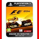 Formula 1 F1 2014 Ps3 Digital Elegi Reputacion Al Comprar
