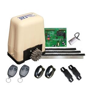 Kit Motor Eletrônico Deslizante Dz3 400kg Turbo 110v Rossi