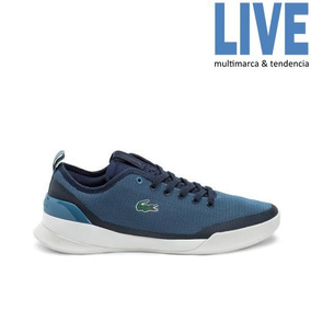 Zapatillas Lacoste Lt Dual 118 1 Celeste/azul Hombre