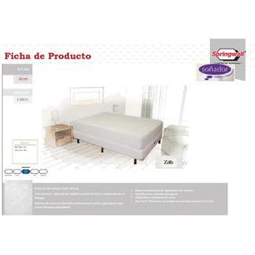 Colchón Soñador Zara Con Sommier 2p 2 Plazas 140x190