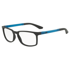 dcfc13f84 Armação Oculos Grau Arnette An7128l 447 Preto Fosco Azul