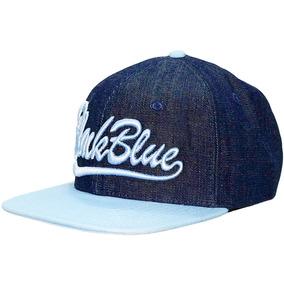 Bone Black Blue Aba Reta Jeans Marinho C/ Bebe Bbb5