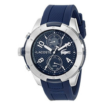2010761 Tonga Reloj De Plata-tone Lacoste Con B Envío Gratis