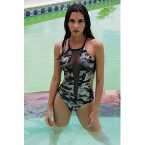 Traje De Baño Manglar Ocean De Malla Enterizos Body Trikini